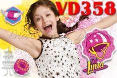 vd358 Son Luna, Fondant, Gum Paste, Candy