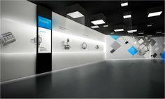 전시공간 인테리어_ HYUNDAI WIA: 현대위아 기계공작 서비스센터 전시 홍보관/m4