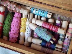 Appliqued Ribbon Box...