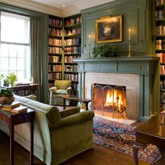 fireplace with bookshelves on each side | 59,688 fireplace with bookcases Home Design Photos
