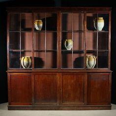 Antique Interior, Antique Furniture, Mark Davis, China Cabinet, 19th Century, Bookcase, Shelves, Interiors, Display