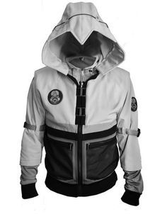 Enter a new reality with the Assassin's Creed - The Recon jacket from UbiWorkshop Assassins Creed Outfit, Moda Geek, Assassin's Creed Hidden Blade, Susanoo, Jamel, Cool Jackets, Cool Outfits, Guy Outfits, Cool Ideas