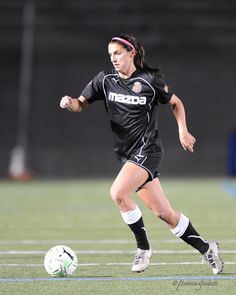 Alex Morgan! I get to see her play today! :)