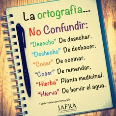 Ortografía Spanish Grammar, Ap Spanish, Spanish Vocabulary, Spanish Words, Grammar And Vocabulary, Spanish Language Learning, Spanish Teacher, Spanish Lessons, Teaching Spanish