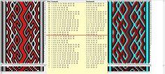 """""""Vida"""" 36 tarjetas, 5 colores,repite cada 16 movimientos // sed_836 diseñado en GTT༺❁"""