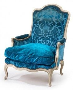 Image result for velvet upholstery fabric - french chairs