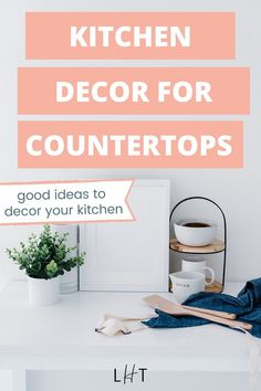 My apartment decorating project is now on and my next area would be the kitchen. My space is not that big so I need to make sure that whatever kitchen decor for countertop I'm getting is functional + pretty lol. I'm so lucky to spot this brilliant post that listed 5 things that I need. Another bonus are the links to get the decors. I was able to order my first set of jars! Couples First Apartment, First Apartment Checklist, First Apartment Essentials, Cute Apartment, Apartment Cleaning, House Cleaning Tips, Cleaning Hacks, Apartment Decorating On A Budget, 5 Things