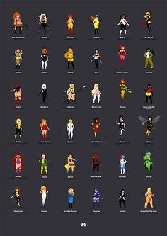 GIRL POWER: '36 Supergirls' Chart