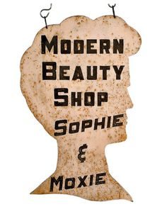 Only Moxie has free reign over my tresses.