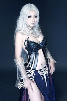 L2 cosplay Dark Elf