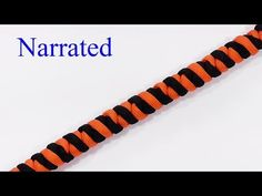 """""""How You Can Make A Sake And Double Connection Knot Paracord Bracelet"""" - YouTube"""