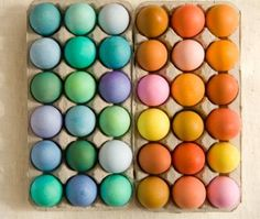 Eggs in Pastels