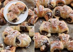 St Martin Crossaints / Rogale Świętomarcińskie Croissant, Doughnut, Cooking, Desserts, Recipes, Food, Meals, Kitchen, Tailgate Desserts