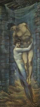 The Depths of the Sea (Sir Edward Burne-Jones - 1887)