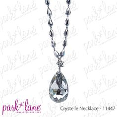 """Facebook contest for 3/23/12. Park Lane will be randomly selecting at least 5 winners throughout the day until 5pm central to receive a fabulous jewelry sample prize!!!! Go to our Jewels by Park Lane Inc. Facebook fan page and click """"Like"""" on the """"Crystelle Necklace"""" on the Official Park Lane POST to be entered! (""""Likes"""" on shared posts will not be counted.)"""