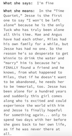whoever wrote this post, your mom's a hoe Broadway Plays, Broadway Theatre, Musical Theatre, Broadway Shows, Tuck Everlasting Musical, Winnie Foster, Torn Curtain, Broadway Quotes, All About Me Book
