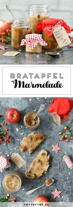 Ein tolles Weihnachtsgeschenk: Bratapfelmarmelade