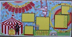 circus scrapbook pages   Visit beatrizguzman58.blogspot.ca