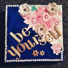 Diy grad caps decor creative graduation cap decoration ideas on university of arizona decorated graduation cap flower graduation cap design ideas, Graduation Balloons, Graduation 2016, Graduation Pictures, Abi Motto, Grad Hat, Graduation Cap Decoration, Cap Decorations, Class Of 2016, Grad Parties
