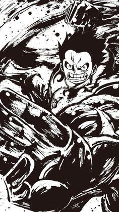 Luffy (one piece) One Piece Manga, One Piece Figure, One Piece Drawing, Zoro One Piece, One Piece Gear 4, Manga Anime, Art Anime, Anime One, Anime Kunst