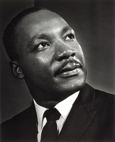 Martin Luther King (1929-1968) - American pastor, activist, humanitarian, and leader in the African-American Civil Rights Movement. Photo by Yousuf Karsh