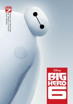 Baymax Stars in New Big Hero 6 Poster | Disney Insider