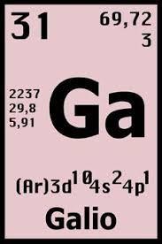 Elementos qumicos mercurio hg elementos qumicos pinterest resultado de imagen para el galio en la tabla periodica urtaz Gallery