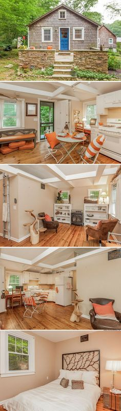 A cozy 400 sq ft cottage in Madison, CT