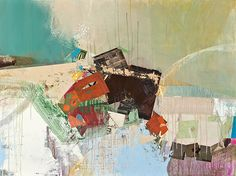 """Carol Gove, """"Fallen"""", mixed media, x Mixed Media Collage, Original Artwork, Museum, Texture, Contemporary, Abstract, Gallery, Artist, Painting"""