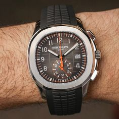 Patek Philippe Aquanaut Chronograph 5968A Hands-On #baselworld2018 #baselworldabtw