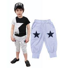 New 2016 baby boy Harem pants star printed baby boy pants high quality baby boy clothes brand children clothing sarouel pantalon