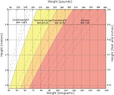 Improve my BMI (body mass index). This chart shows where a person falls in the . Bmi, Routine, Person Falling, 61 Kg, Weights For Women, How To Get, How To Plan, Diet Plans To Lose Weight, Weight Loss Transformation