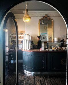 "The Shopkeepers on Instagram: ""Clement & Pekoe, Dublin 📷@flynnclancy Pretty Dublin coffee & fine tea shop @clementandpekoe #coffeeshop #dublinmydarling…"" Beautiful Space, Dublin, London, Places, Pretty, Modern, Shopping, Instagram, Coffee Shops"