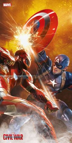 'Captain America Civil War' Promo Art