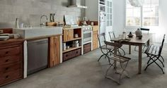 Julian Tile Show Room in Langley, Burnaby, Calgary, Edmonton and Winnipeg. Kitchen Inspirations, Countertops, Interior, Home, Floor And Wall Tile, House Flooring, New Homes, Kitchen Reno, Flooring