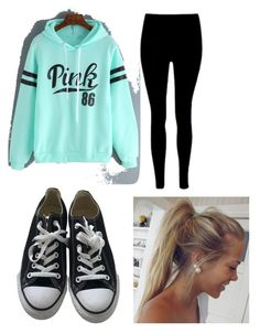"""Nightly walk"" by madison-kohut on Polyvore featuring Converse"
