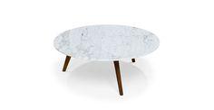 Mara Walnut Coffee Table - Coffee Tables - Article | Modern, Mid-Century and Scandinavian Furniture | $299