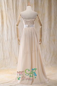 Sweetheart sleeveless floor-length with sashes lace up back bridemaid dress /cocktail dresses