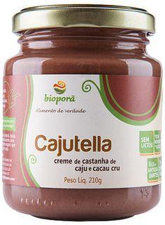 Creme de Castanha de Cajú e Cacau Cru Bioporã.