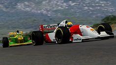 South Africa '93: Senna