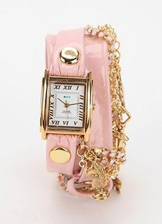 La Mer Crystal Ballerina Wrap Watch