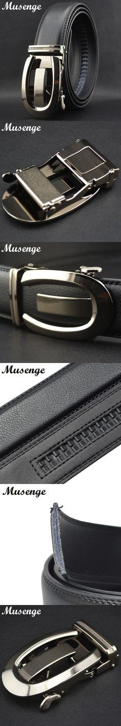 Belt Cinturones Hombre Designer Belts Men Genuine Leather Geometric Metal Automatic Buckle Novelty Luxury Belt Men Ceinture 2016