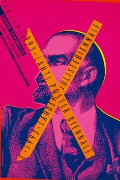 Alain Le Quernec - X Lahti Poster Biennale Graphic Design Trends, Graphic Design Projects, Graphic Design Posters, Graphic Design Typography, Ad Design, Graphic Design Illustration, Graphic Design Inspiration, Graphic Designers, Brainstorm