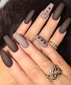 Most Beautiful Matte Nail Art Designs