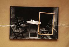 sketch coffee tablet for next exhibition at @LA PARADA