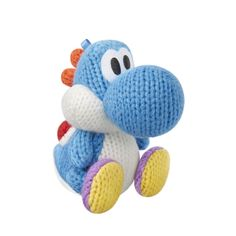 Blue Wooly Yoshi Amiibo