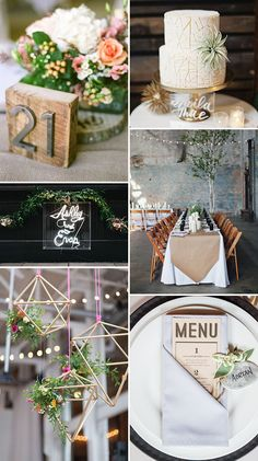 Industrial Romance Wedding Trend | See more wedding inspiration at www.onefabday.com