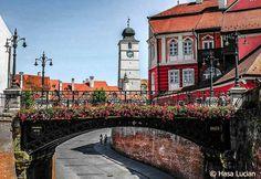 """The Liar's bridge"" in Sibiu-Romania Sibiu Romania, Bucharest Romania, Peles Castle, Romania Travel, Eastern Europe, Big Ben, National Parks, Beautiful Places, Vacation"