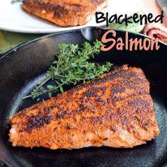 Mom, What's For Dinner?: Blackened Salmon