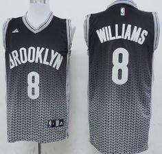 ... Brooklyn Nets 8 Deron Williams BlackWhite Resonate Fashion Jersey. Deron  WilliamsBrooklyn NetsNba BasketballNhl JerseysBlack . 54d41de41